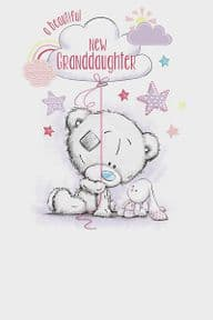 Me to You New Baby Granddaughter Card