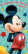 Mickey Mouse Money Wallet Card