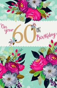 On Your 60th Birthday Card