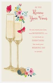 Renew Your Wedding Vows Greeting Card