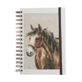 Spirit Horse Spiral Bound A5 Notebook