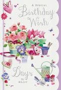 Sweep You Off Your Feet Birthday Card