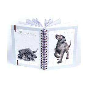 Walkies Labrador Spiral Bound A5 Notebook