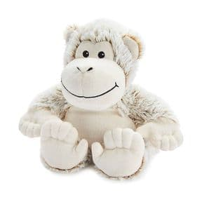 Warmies Cozy Plush Marshmallow Monkey Microwaveable Soft Toy