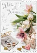 Wedding Day Wishes Greeting Card