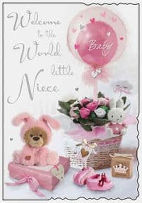 Welcome to the World Niece Card