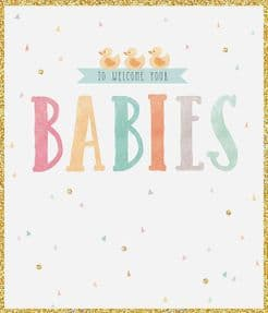 Welcome Your Babies Greeting Card