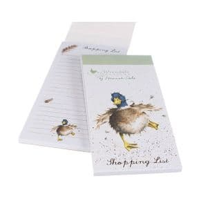 Wrendale A Waddle & a Quack Duck Magnetic Shopping Pad
