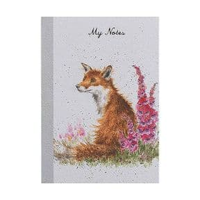 Wrendale A6 Foxgloves Notebook