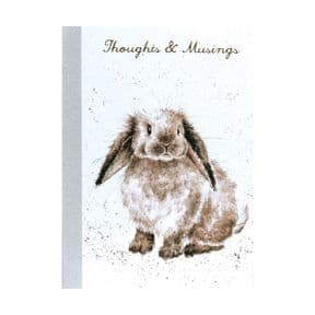 Wrendale A6 Rabbit Notebook