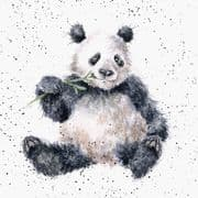 Wrendale Bamboozled Panda Bear Greeting Card