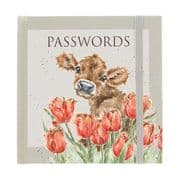 Wrendale Bessie Cow Password Book