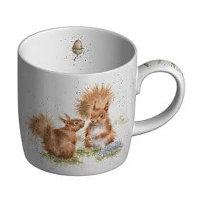 Wrendale Between Friends Squirrel Mug