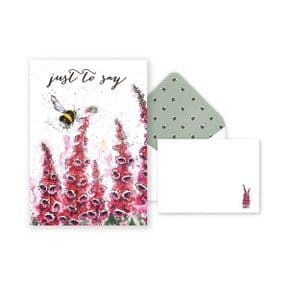 Wrendale Bumble Bee Notecard Pack