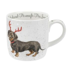 Wrendale Dachshund Through The Snow (Dachshund) Mug