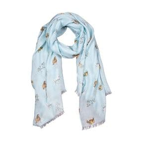 Wrendale Feathers & Forelocks Horse Scarf (Green)