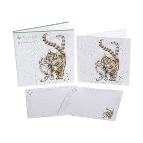 Wrendale Feline Good Cats Pack of 6 Notecards