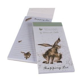 Wrendale Hare Magnetic Shopping Pad