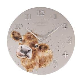 Wrendale Highland Cow Wall Clock