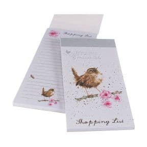 Wrendale Little Tweets Bird Magnetic Shopping Pad