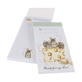 Wrendale Mice Crackers About Cheese Magnetic Shopping Pad