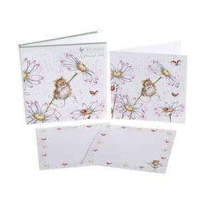 Wrendale Oops a Daisy Mice Pack of 6 Notecards