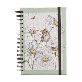 Wrendale Oops a Daisy Sprial Bound A5 Notebook