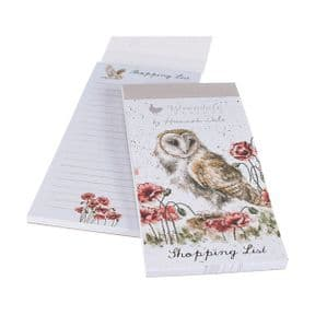 Wrendale Owl The Lookout Magnetic Shopping Pad