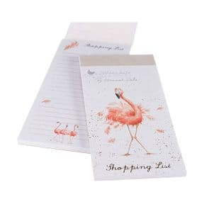 Wrendale Pink Ladies Flamingo Magnetic Shopping Pad