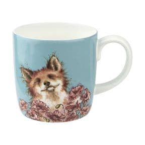 Wrendale Poppy Field Fox Boxed Mug