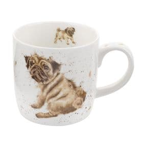 Wrendale Pug Love Dog Mug