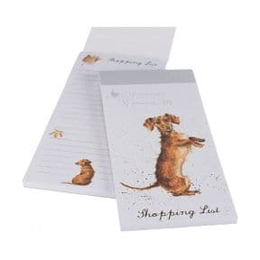 Wrendale Sausage Dog Dachshund Magnetic Shopping Pad