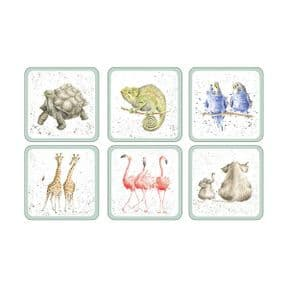 Wrendale Set of 6 Zoological Coasters