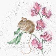 Wrendale The Pea Thief Mouse Greeting Card