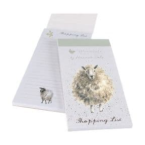 Wrendale The Sheep Woolly Jumper Magnetic Shopping Pad