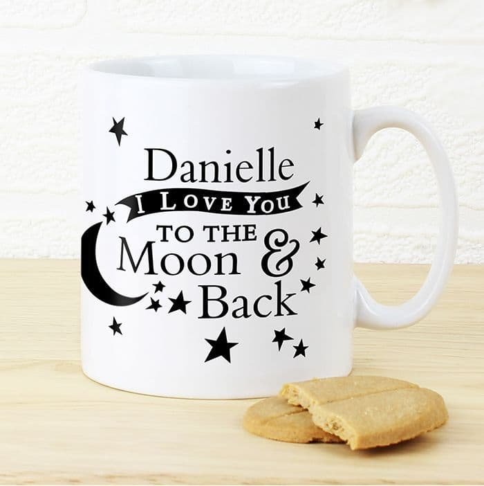 Personalised To the Moon and Back... Mug
