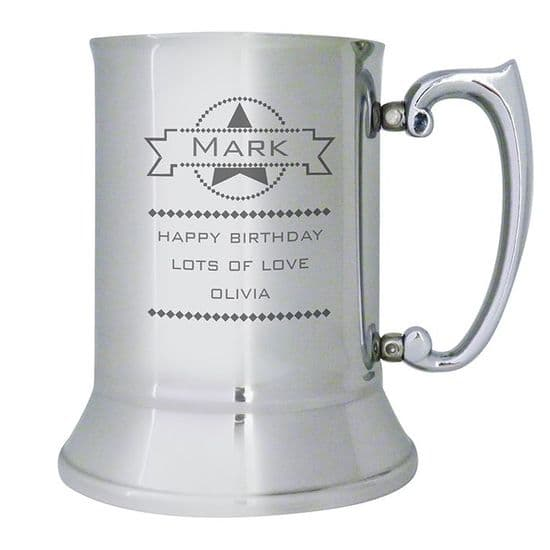 Stainless Steel Tankard's