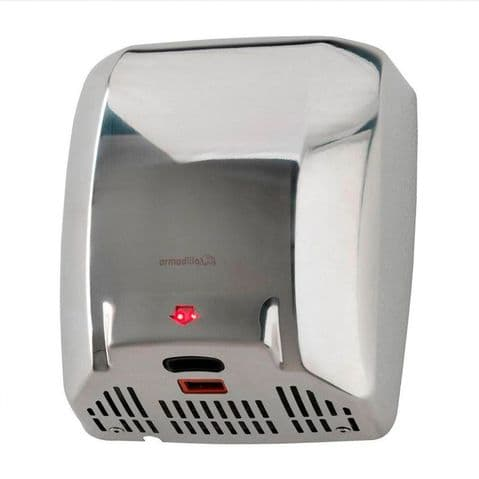Armadillo Hand Dryer Stainless Steel (1004)