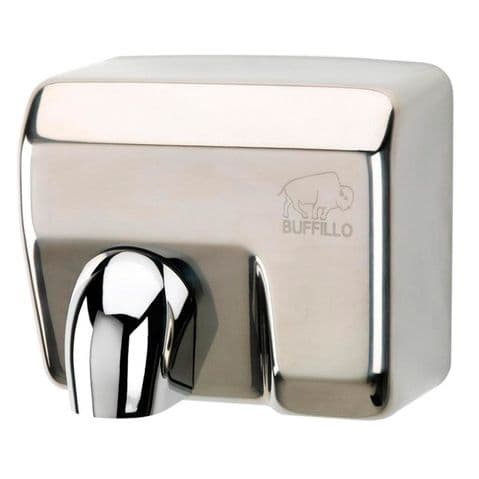 Buffillo Stainless Steel (Rotating nozzle) Hand Dryer - (1131SS)
