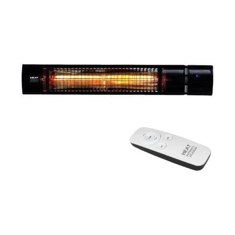 ShadowPlus† 1.5kW Ultra-Low-Glare Wall Mounted Heater with Remote Control (Black,White or Silver)