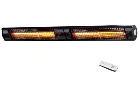 ShadowPlus† 3kW Ultra-Low-Glare Wall-Heater with Remote Control