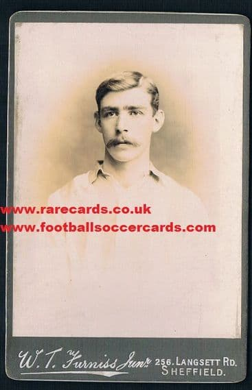 1898 Harry Ruddlesdin rookie Wednesday