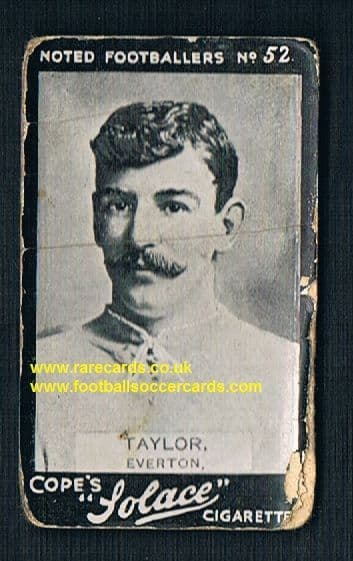 1910 Cope Bros. Solace cigarette 52 Everton Taylor