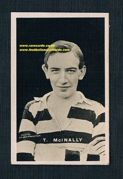 1921 Tom McInally Celtic Adv soFBF