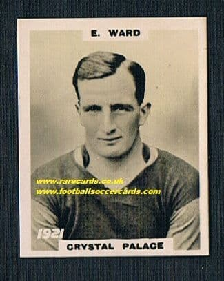 1922 Crystal Palace 1921 Ward