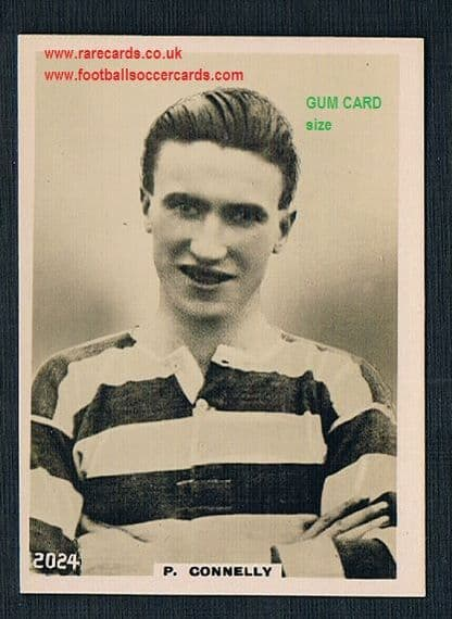 1922 Pinnace GUM CARD SIZE 2024 Celtic Connelly card FRAMELINES