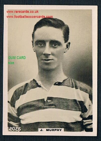 1922 Pinnace GUM CARD SIZE 2026 Celtic Murphy FRAMELINES