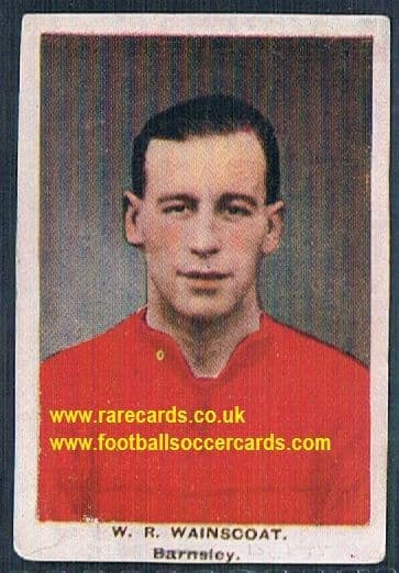 1923 Adventure Gallery Famous Club Colours Players Barnsley Wainscoat