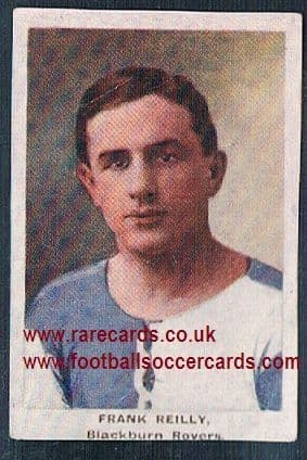 1923 Adventure Gallery Famous Club Colours Players Blackburn Rovers Reilly
