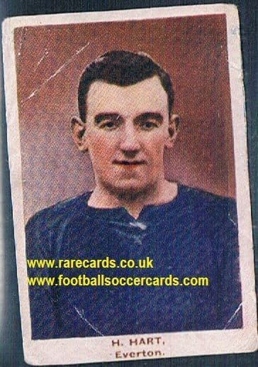 1923 Adventure Gallery Famous Club Colours Players Everton Hart
